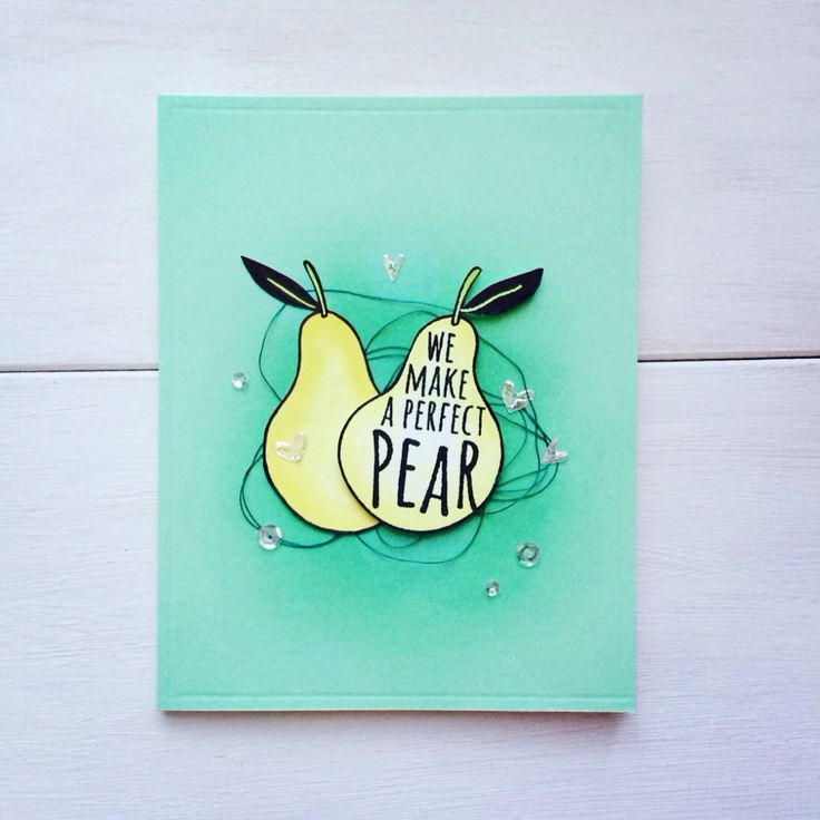 Hero Arts pear!