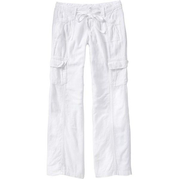New Vince Linen Cargo Pants In Black  Lyst