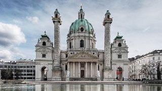 Anfang des 18. Jahrhunderts begann die Entwicklung der Wieden zur Stadt. Im Zuge dieser Phase entstanden die Karlskirche, das Palais Schönburg und der traditionelle Wiener Naschmarkt   copyright: Patrik Hesse
