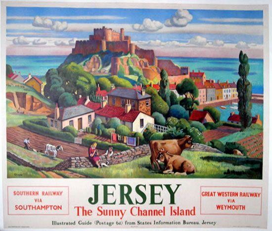 Jersey, Channel Islands - my honeymoon destination in 1988 x