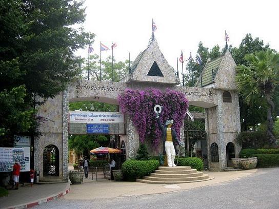 Crocodile Farm and Million Years Stone Park in Pattaya, Thailand