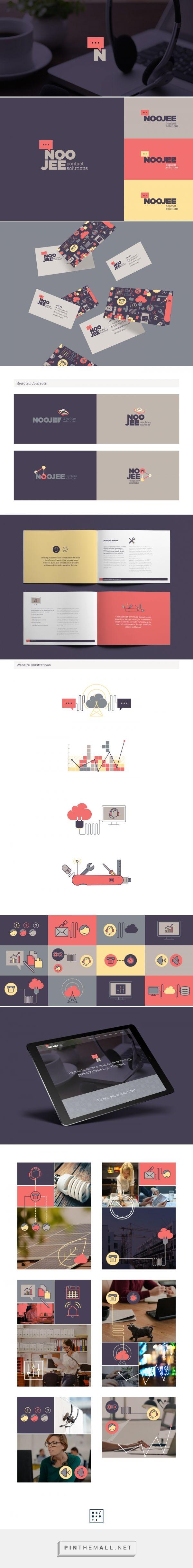 Noojee Branding by Nick Edlin on Behance | Fivestar Branding – Design and…