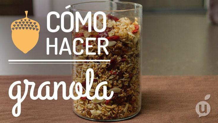 Cómo hacer granola | Receta de granola casera | Granola en casa