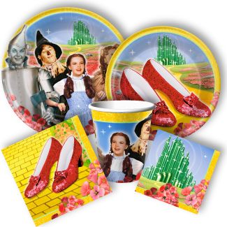 Wizard of Oz Party Supplies: Wizard of Oz Birthday Decorations, Party Favors, and Invitations