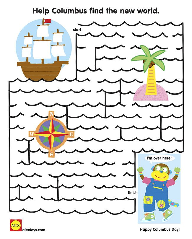 Printable Worksheets free columbus day worksheets : 32 best SLP Columbus Day Freebies images on Pinterest ...