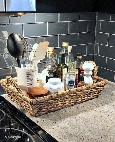 Organized Kitchen Counters