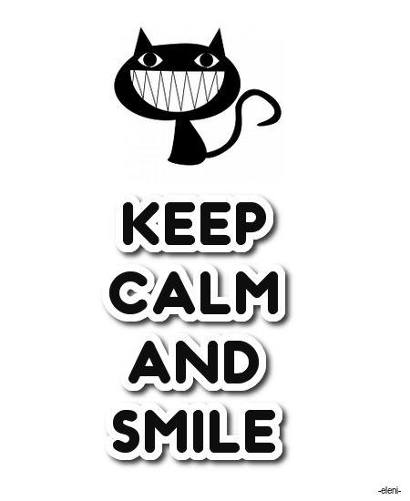 Keep Calm And Smile Quotes: 356 Best Opbeurende Teksten Voor Een Sombere Dag Images On