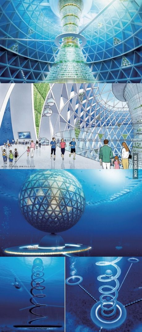Design plan for the first Underwater City in Japan