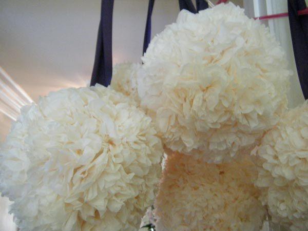 DIYFlower Ball, Paper Pomander, Paper Pom Pom, Tissue Paper Flowers, Diy Tutorials, Tissue Paper Pom, Tulle Pom, Diy Pomander, Pomander Ball
