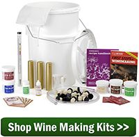 Will natural grape juice from a can ferment? Paired with other wine making materials, grocery store juices are a great way to learn how to make your own wine.
