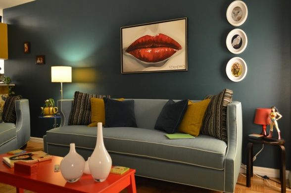 17 Best Ideas About Retro Living Rooms On Pinterest