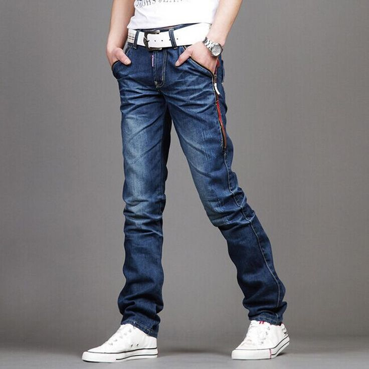 18.80$  Watch here - http://ali5mt.shopchina.info/go.php?t=32680282663 - New Casual Men's Jeans Slim fit Men Pant Personality pockets Fashion Jeans Men Straight Plus Size 28~36/38 hombre pantalones 18.80$ #buyininternet