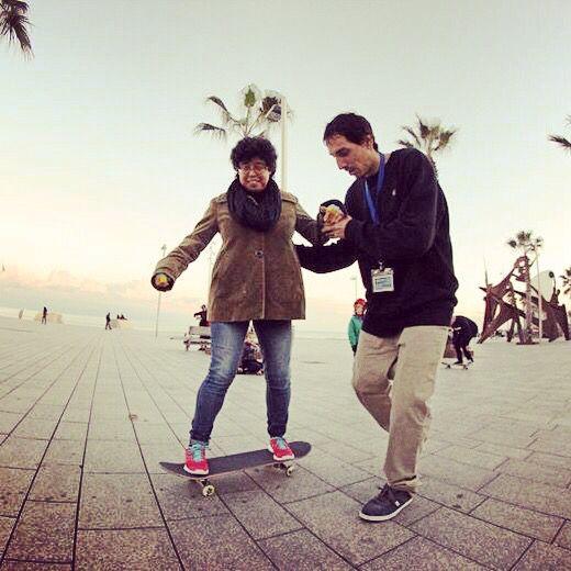 En #Doctown transmitimos nuestra pasión por el #Skateboarding no solo a los más pequeños...! www.doctown.es #skatelife #escueladeskate @jartskateboards @arnette @dcshoesspain #skate