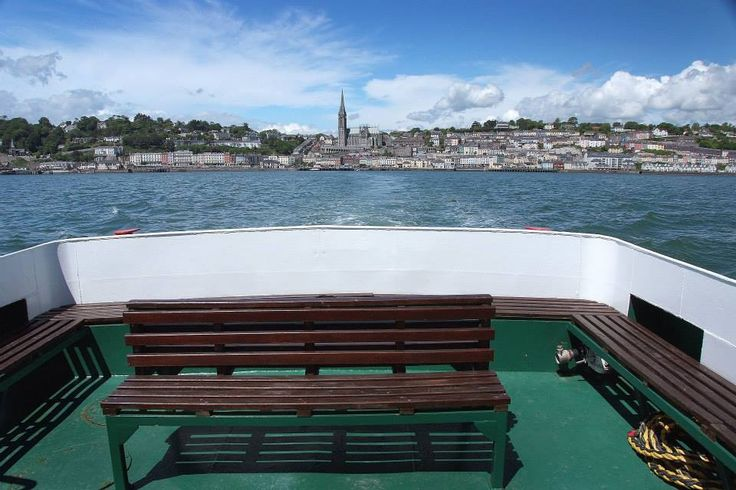 Cobh view from Spike Island Ferry.