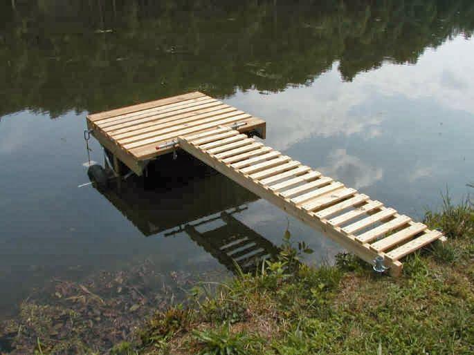 Diy Floating Deck On Slope