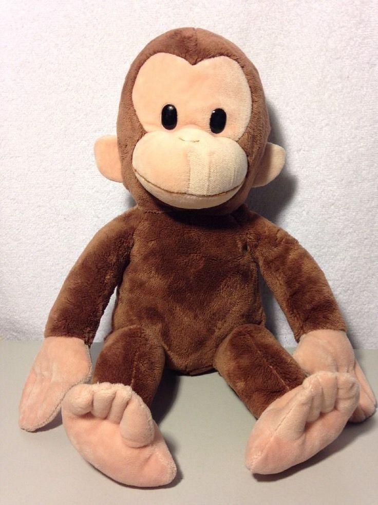 Kohl's Cares Curious George Monkey Plush Stuffed Animal  #Applause