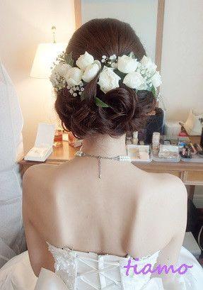 美人花嫁さまの3アップスタイルチェンジで素敵な一日♡ | 大人可愛いブライダルヘアメイク 『tiamo』 の結婚カタログ