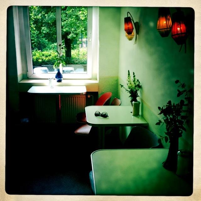 Cafe in Berlin, Germany.