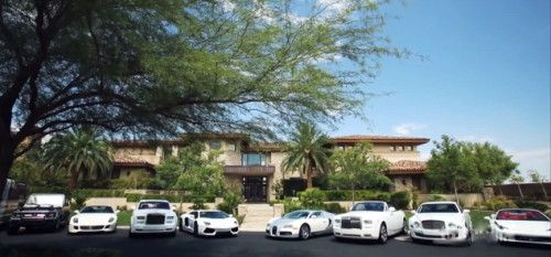 Boxing World Title Champion-Floyd Mayweather Jr. Shows His Las Vegas Car Collecttion - CapeLux.com