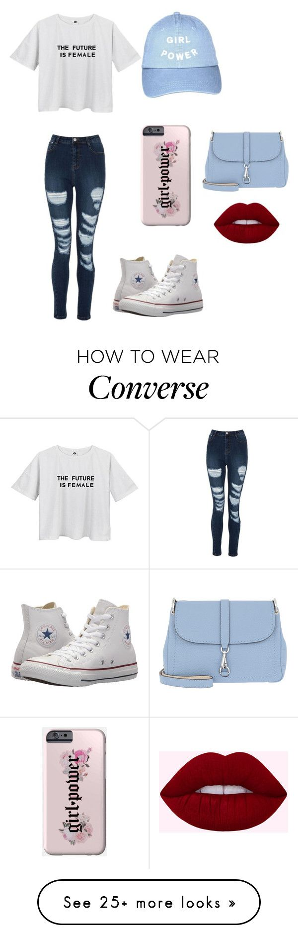"""Untitled #1"" by mshapiro04 on Polyvore featuring Converse, Bogner, womensHistoryMonth, pressforprogress and GirlPride"