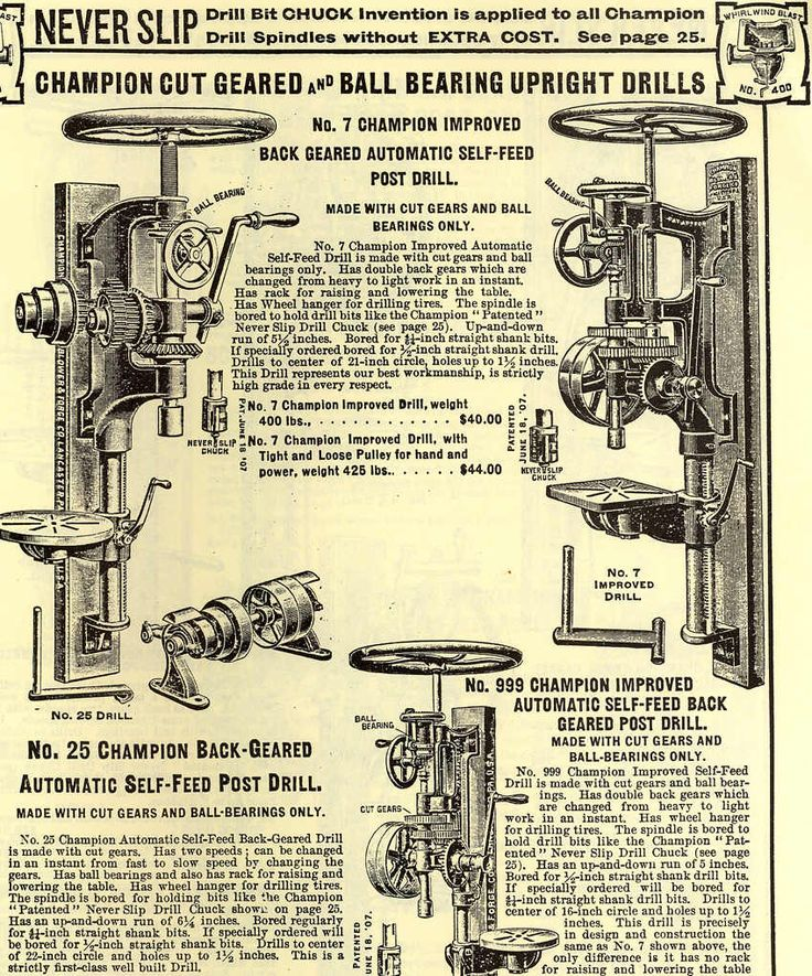 43 best Drill press images on Pinterest Old tools, Vintage tools - sample tap drill chart