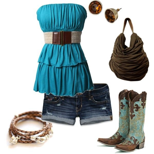Cowgirl Summer - Polyvore WANT!!!!
