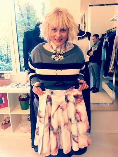 SS2015 Preview MAURO GASPERI and the Designer interviewed today by Great Luxury Life Stylers I MURR ! Roberta Murr in showroom in love with Mauro Gasperi!