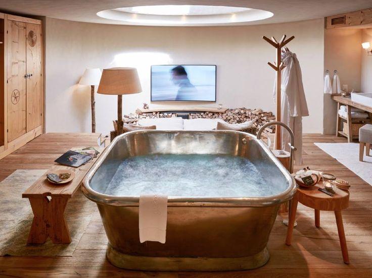 "Exhale: ""OMmmmmmmm..."" Inhale: ""OMmmmmmmm..."" Hotel Guarda Val Lenzerheide, Switzerland"