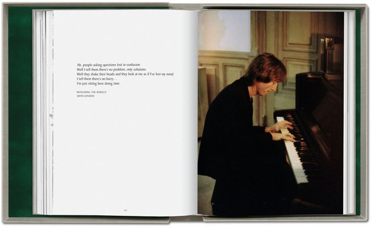 Kishin Shinoyama. John Lennon & Yoko Ono. Double Fantasy. TASCHEN Books (Collector's Edition)