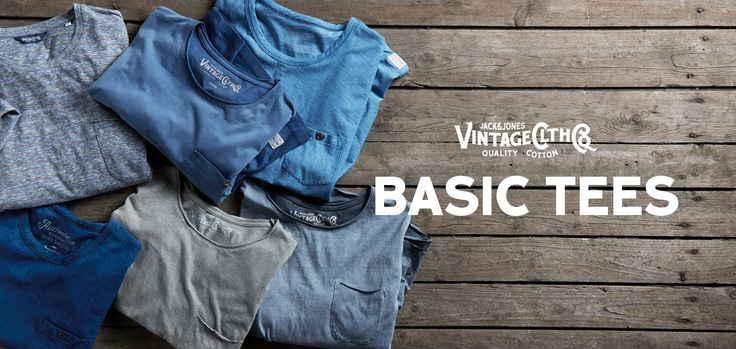 Expand your sun-ready wardrobe with our basic tees!