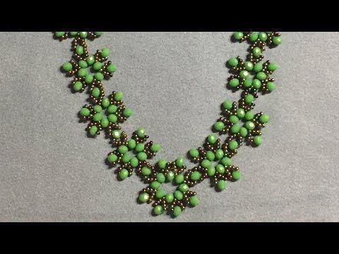 Snowflake Necklace, Kar tanesi kolye yapımı - YouTube