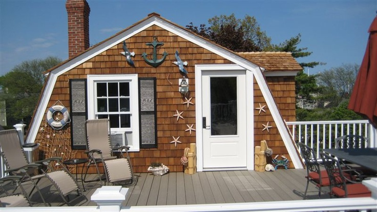 Three level porch and roof we fully remodeled at the