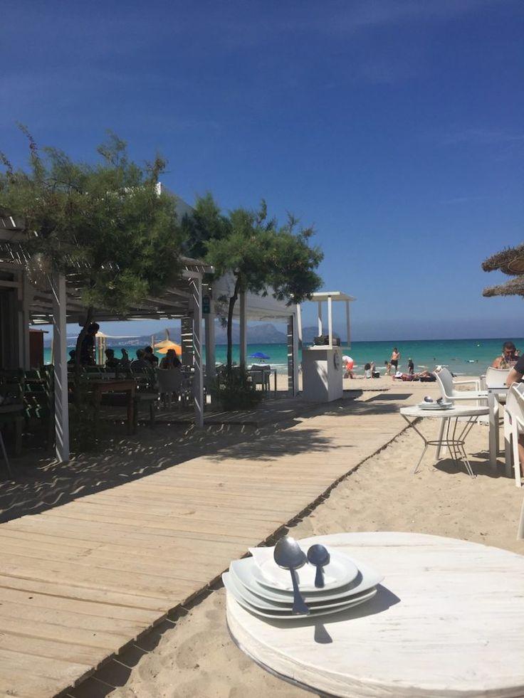 Ponderosa Beach - Playa de Muro Restaurant - Beach Restaurant Mallorca - Paella Mallorca - Alcudia Restaurants - Die besten Restaurants Mallorca