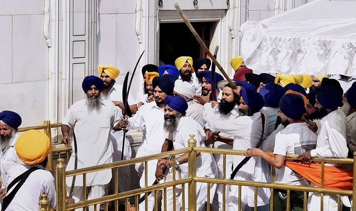 'Khaalistan Zindabad' slogans reverberate in Golden Temple on 33rd anniversary of Operation Blue Star Read here - http://u4uvoice.com/?p=264497