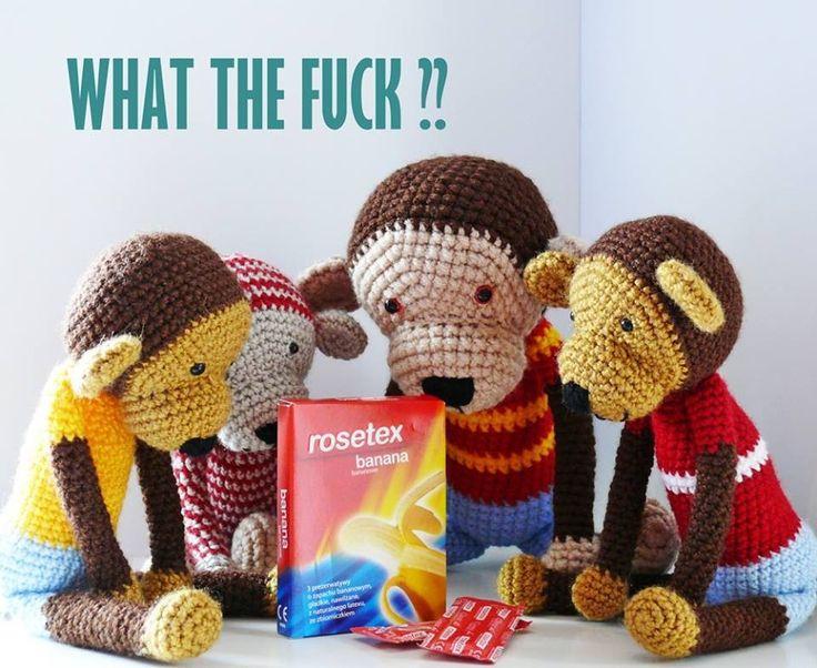 Monkeys discover a new kind of banana.