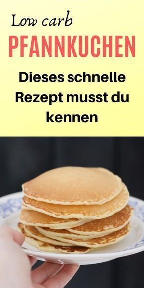 Rezept: Low carb Pfannkuchen mit Haselnüssen