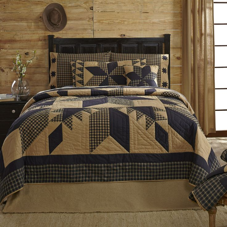 Features: - Patchwork - Hand quilted, machine pieced - Stitch in the ditch and…                                                                                                                                                                                 More