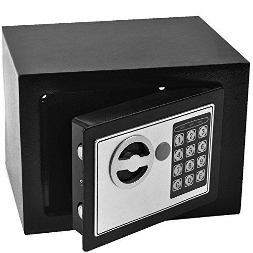 Safeplus Durable Digital Electronic Safe Box Keypad Lock Home Security Code Box for Cash Gun Jewelry | shopswell