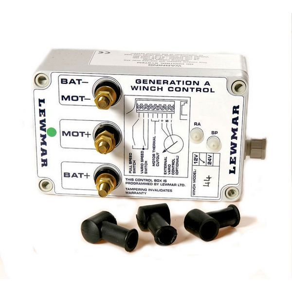 Контроллер скорости лебедки Lewmar 48000140 12 В размер 44  - Артикул: 9512408730;  - Производитель: Lewmar;  - Страна произв-ва: Великобритания
