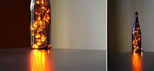 DIY Wine Bottle Light — Wit & Whistle