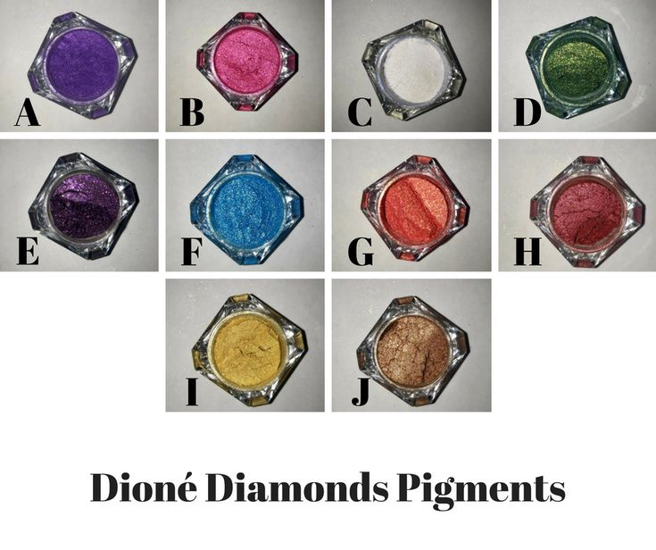 Add some glitz to your makeup routine with Dioné Diamonds Pigments. These are pure pigments with zero filler so no chalky application here. Use in conjunction with Glam It All to create metallic liquid eyeshadows and liners. Purchase one at a time or save money by purchasing 3. To purchase the bundle, choose the BUNDLE option and add your color choices in the notes section.
