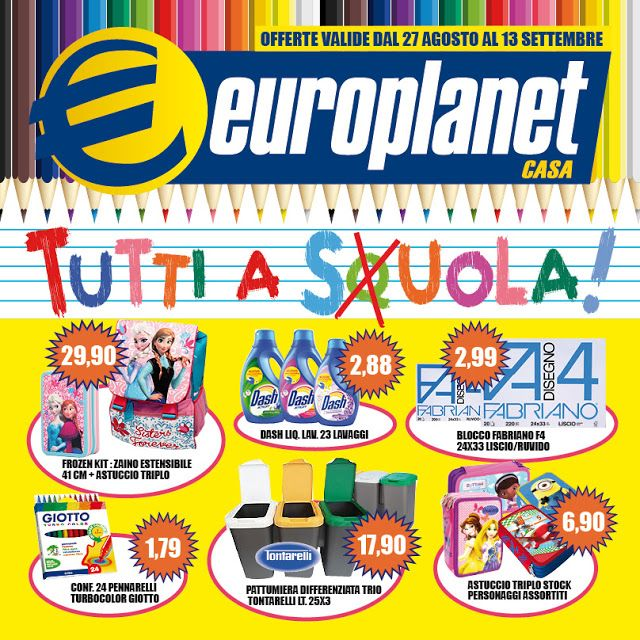 helvericagrafica: Europlanet casa Italia _ Back to school!