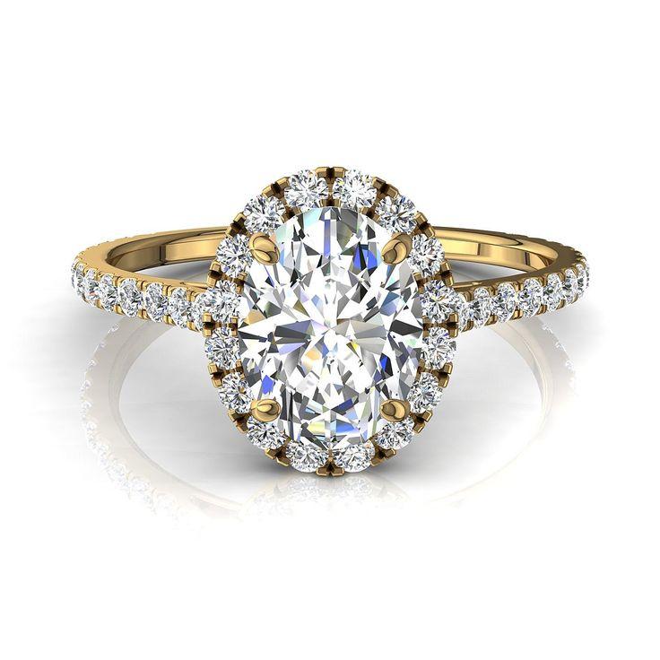 Bague de fiançailles pour femme, solitaire bague diamant oval 1,1 carats or jaune Camogli-oval  #diamants #diamantsetcarats #Solitaire4Griffes #SolitaireDiamant #PendentifDiamantPrincesseAura #capucine #PendentifDiamantElena #SolitaireBagueDiamant #PendentifDiamant #BagueDiamantRond