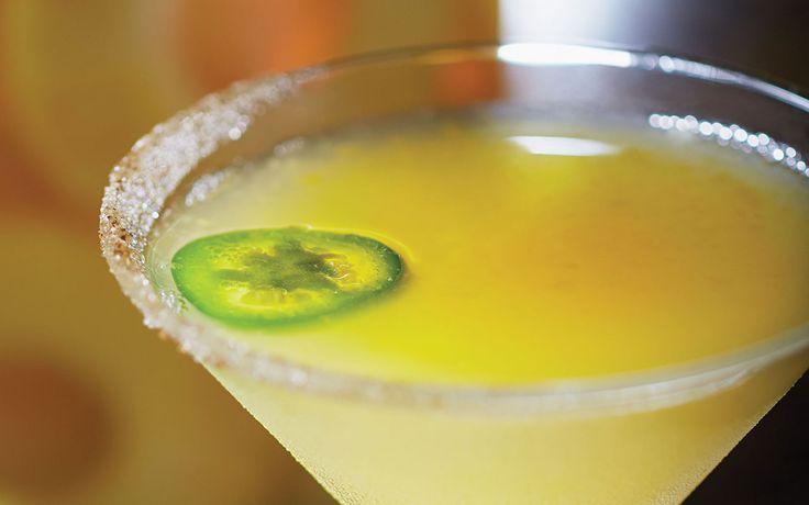 Ocean Trust Tropic Heat Martini at Bonefish Grill
