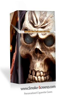Handsome design for a cigarette case via www.smoke-screenz.com