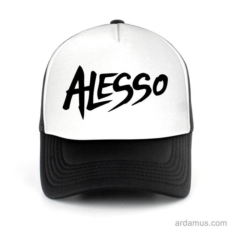 Alesso Trucker Hat for men or women. Available color black, red, pink, green. Shop more at ARDAMUS.COM #djtruckerhat #djcap #djsnapback #djhat