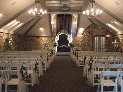 A floral arch is so romantic! King's Indoor Chapel ...