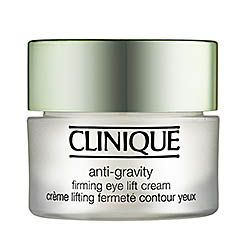 CLINIQUE Anti-Gravity Firming Eye Lift Cream -   #sephora  It's probably not the best anti-aging solution out there.  I like the composition of it; it's more like a gelatin than a liquid and it seems like my face is less lined when I apply it minimally one time a day, more is better.  **** $40