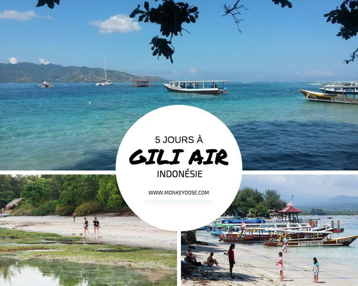 Gili Air Îles Gili Indonésie