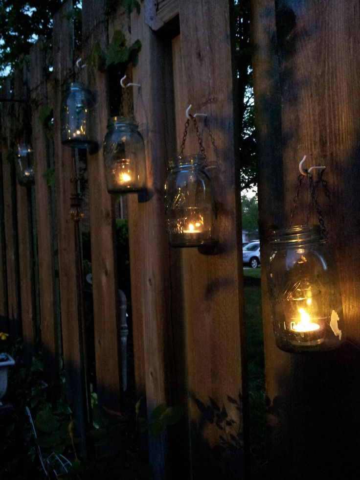 String Lights On Fence : Best 25+ Fence lighting ideas on Pinterest Solar lights, Garden post lights and Fence decorations